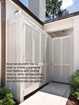 House and Home Southern Plantation Shutters